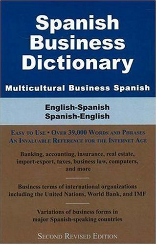 Spanish Business Dictionary: Multicultural Business Spanish