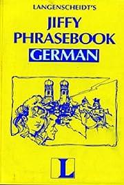 Jiffy Phrasebook German (Book Only) (English…