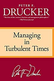 Managing in Turbulent Times de Peter F.…