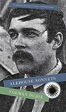 Alehouse Sonnets (Carnegie Mellon Classic…