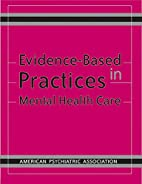 Evidence-based practices in mental health…