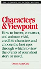 Characters & Viewpoint (Elements of Fiction…