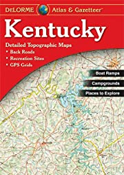 Kentucky Atlas & Gazetteer de Delorme