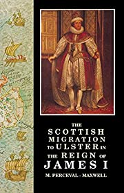 The Scottish Migration to Ulster in the…