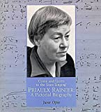 Come and Listen to the Stars Singing: Priaulx Rainier - A Pictorial Biography Book