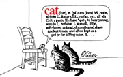 Cat (kat), n av B Kliban