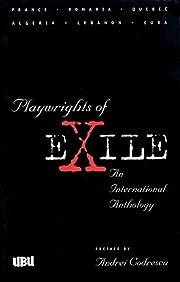 Playwrights of Exile por Leïla Sebbar