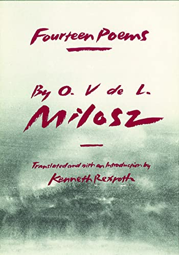 Fourteen Poems (French and English Edition), Milosz, O.V.