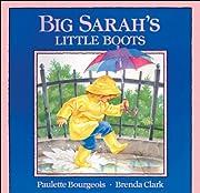 Big Sarah's Little Boots (A Blue Ribbon…
