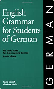 English Grammar for Students of German de…