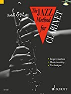 JAZZ METHOD FOR CLARINET BOOK AND CD (Tutor…