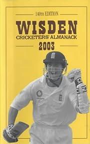 Wisden Cricketers' Almanack de Tim De Lisle