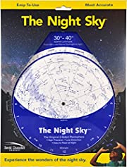 The Night Sky 30°-40° (Large; North…