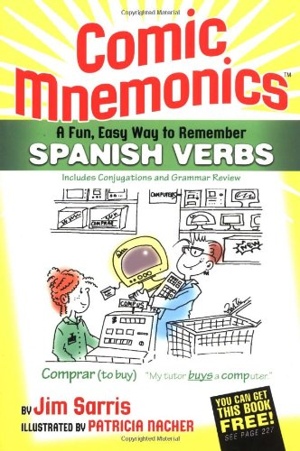 Comic Mnemonics for Spanish Verbs