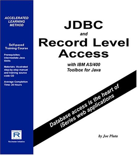Jdbc And Record Level Access With Ibm As/400 Toolbox For Java