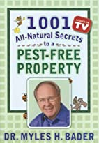 1001 All-natural Secrets to a Pest-free…