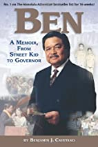 Ben: A Memoir, from Street Kid to Governor…