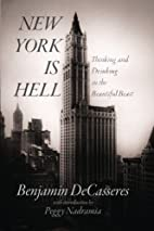 New York is Hell: Thinking and Drinking in…