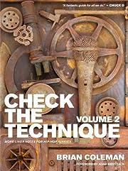 Check the Technique: Volume 2: More Liner…