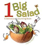 1 Big Salad: A Delicious Counting Book por…