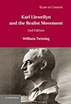 Karl Llewellyn and the realist movement by…