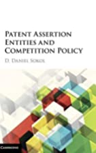 Patent assertion entities and competition…
