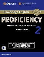 Cambridge English Proficiency 2…