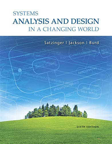 Free Download Pdf Systems Analysis And Design In A Changing World 6th Edition 1111534152 Push En Towere65