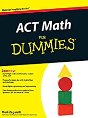 ACT Math For Dummies af Zegarelli