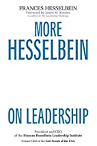 More Hesselbein on Leadership by Frances…