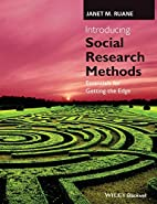 Introducing Social Research Methods:…