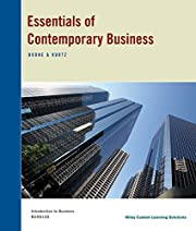 Essentials of Contemporary Business by Boone…