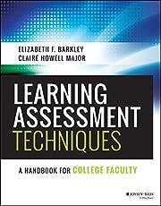 Learning Assessment Techniques: A Handbook…