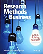 Research methods for business : a…