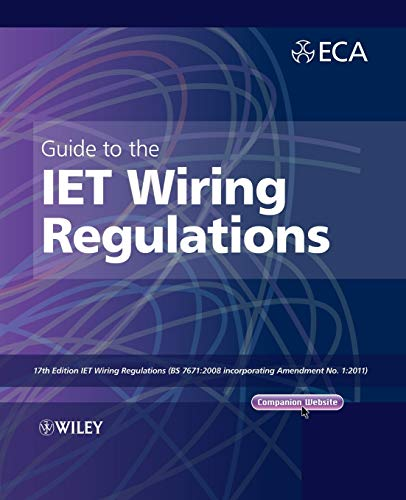 Download pdf, epub, mobi guide to the iet wiring regulations: iet.