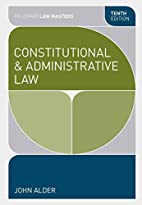 Constitutional and administrative law by…