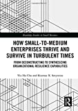 How small-to-medium enterprises thrive and survive in turbulent times : from deconstructing to synthesizing organizational resilience capabilities / Yiu Ha Chu and Kosmas X. Smyrnios