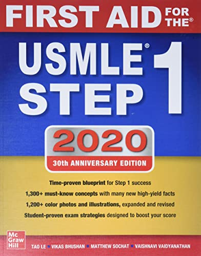 Read Now First Aid for the USMLE Step 1 2020, Thirtieth edition