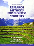 Research methods for business students / Mark Saunders, Philip Lewis, Adrian Thornhill