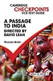 A passage to India by David Lean / Rhonda Brislin