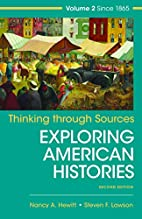 Thinking Through Sources for American…
