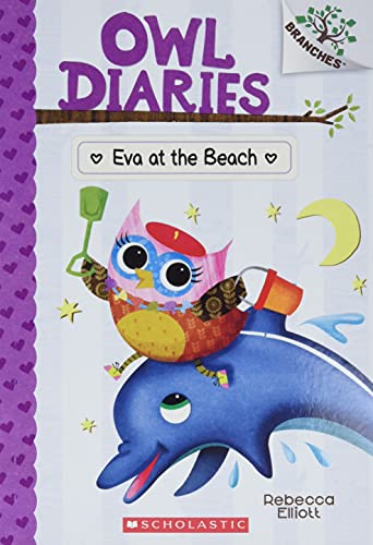 Eva At The Beach by Rebecca Elliott