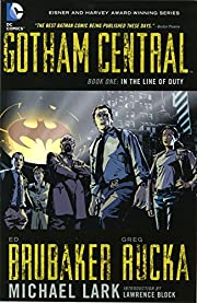 Gotham Central TP Book 01 In The Line Of…