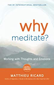 Why Meditate: Working with Thoughts and…