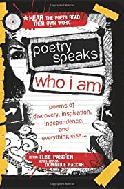 Poetry Speaks Who I Am with CD: Poems of…
