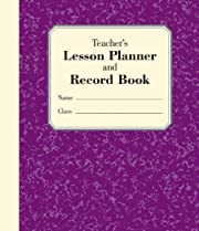 Teacher's Lesson Planner and Record…