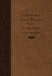 Gods Wisdom For Your Every Need-LeatherSoft…