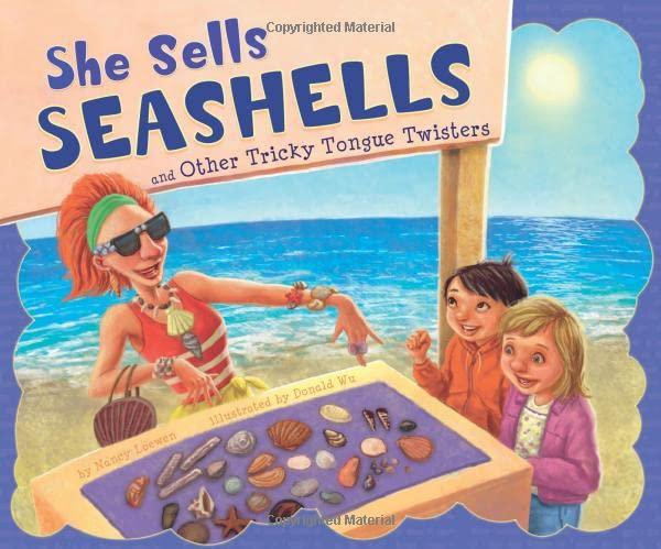 Seashells tongue twister