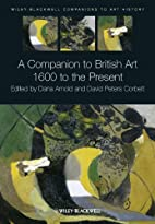 A companion to British art 1600 to the…