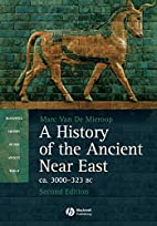 A History of the Ancient Near East ca.…